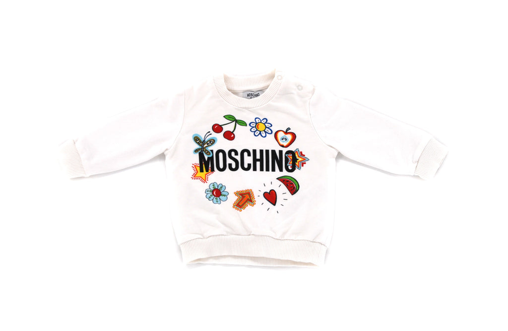 Moschino, Baby Girls Sweatshirt, 6-9 Months