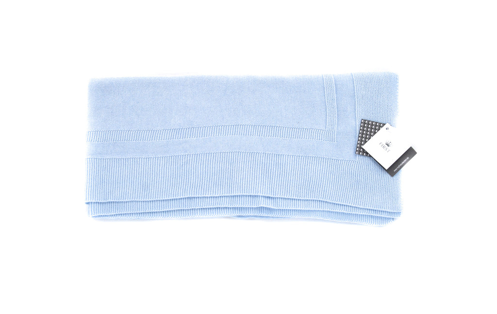 First, Baby Blue Blanket, O/S