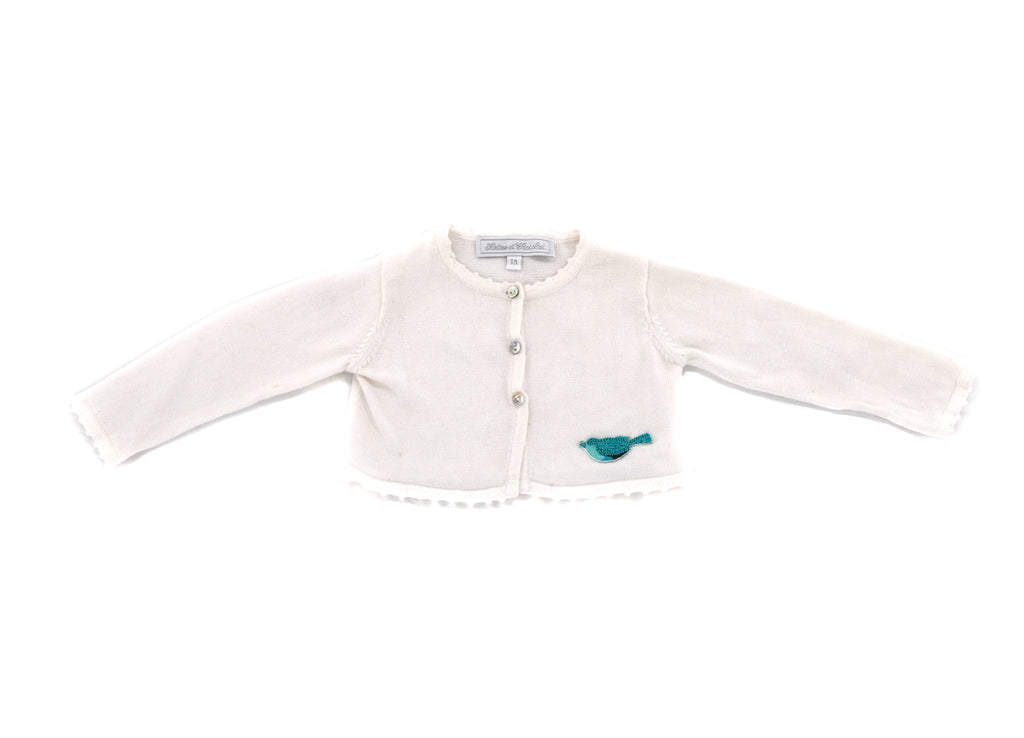 Tartine et Chocolate, Baby Girls Cardigan, 3-6 Months