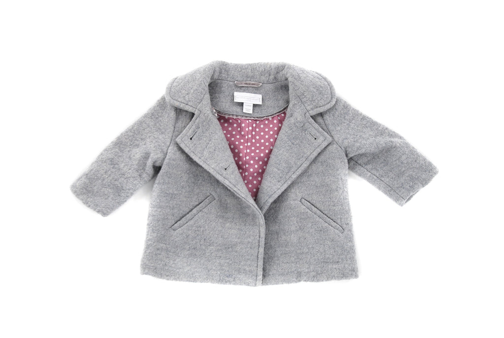 The Little White Company, Baby Girls Coat, 3-6 Months