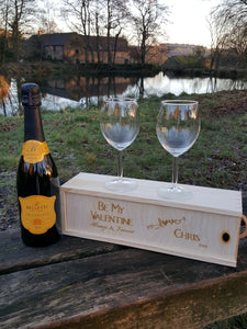 Personalised Be My Valentine Gift Box