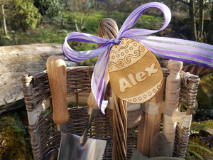 Personalised Easter Basket | Personalised Easter Gift Basket for Him or Her