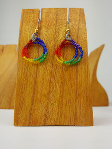 Earring Display Handmade of Natural Wood