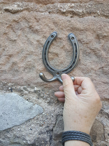 Cast Iron Horsehoe Wall Hook