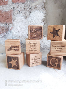 Building Memories Personalised Blocks