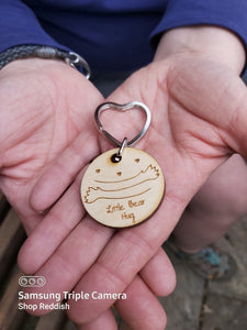 Little Bear Hug Key Ring - We're in This Together 2020