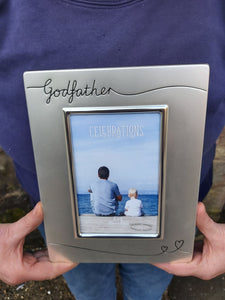 Godfather Silver Plated Picture Frame