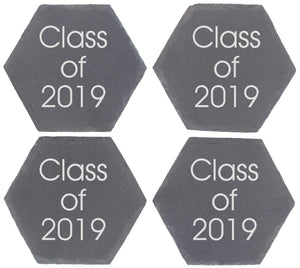 Class of Personalised Graduation or Alumni Coaster