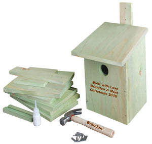 contents of bird house kit