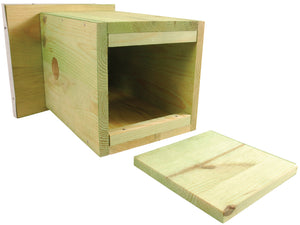 wooden bird box kit