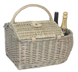 Unique Boat Design 2 Person Picnic Basket