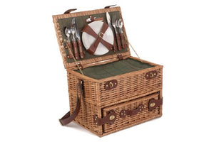 Wine Lover's 4 Person Picnic Basket