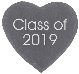 Class of Personalised Graduation or Alumni Gift Coaster