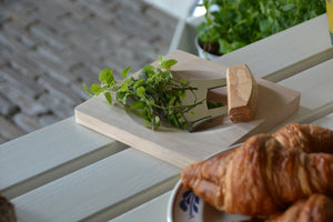 Herb Knife with Chopping Board