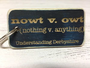 Souvenir or Promotional Wood Key Rings