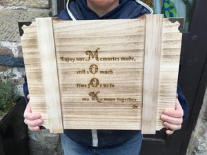Personalised Wood Treasure Keeper