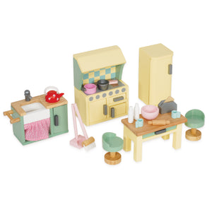 Daisylane Kitchen Doll House Furniture by Le Toy Van