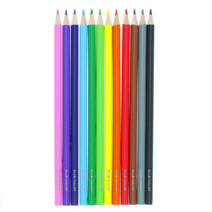 Personalised Set of 12 Colouring Pencils