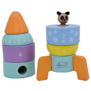 Rocket Stacking Shape Sorter