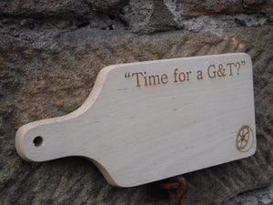 Personalised Time for a G&T Cutting Board