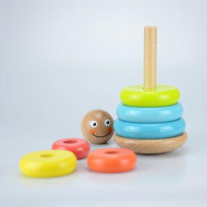 Wobbly Stacker Traditional Wood Toy