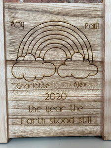 2020 Memory Box The Year The Earth Stood Still