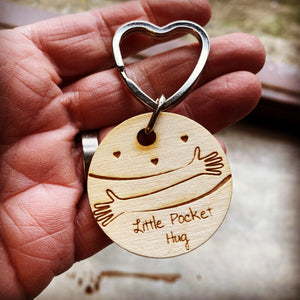 Pocket Hug Key Ring - We're in This Together 2020