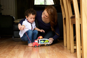 Play Car Carrier with Cars