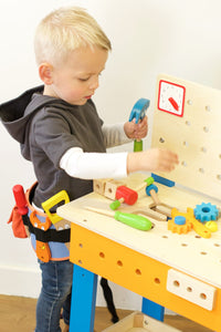 Personalised toy wooden tools