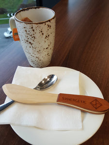 Natural Wood Butter or Cheese Knife
