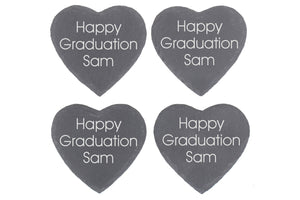 Happy Graduation Personalised Graduation Gift Coaster