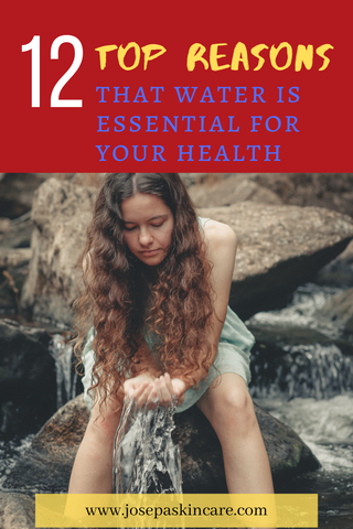 Top 12 reasons that water is essential for your health