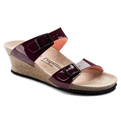 Dorothy Two Tone Patent  Wine