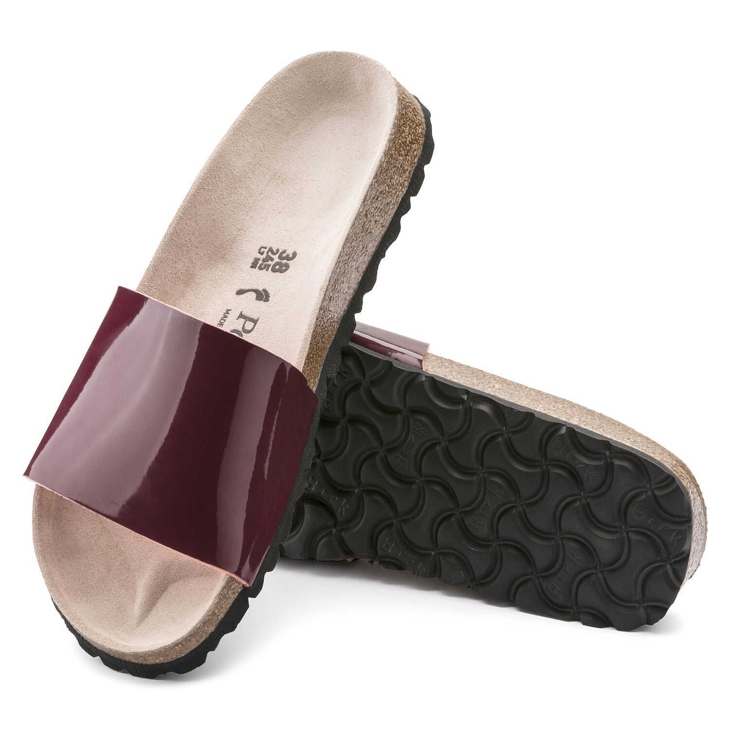 Cora Two Tone Patent Wine
