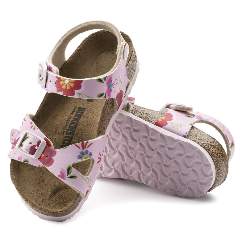 Sandalia Rio Kids BF China Flowers Pink