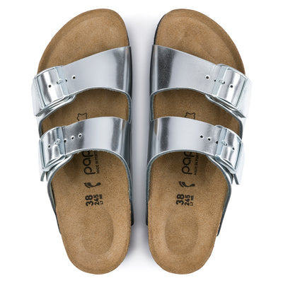 Arizona Platform Metallic Silver