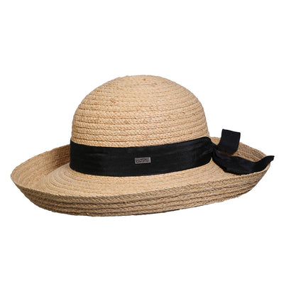 Tiburon Ladies Raffia Hat