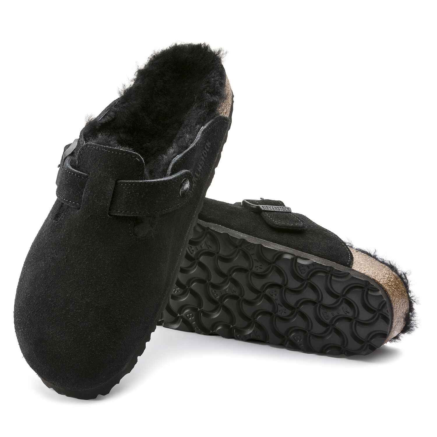 Boston Black sheepskin