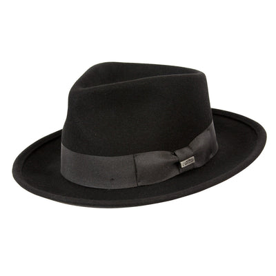 Leroy Wool Crushable Fedora