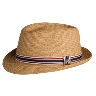 5th Avenue Straw Pork Pie Fedora