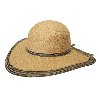 Lake May Wide Brimmed Ladies Hat
