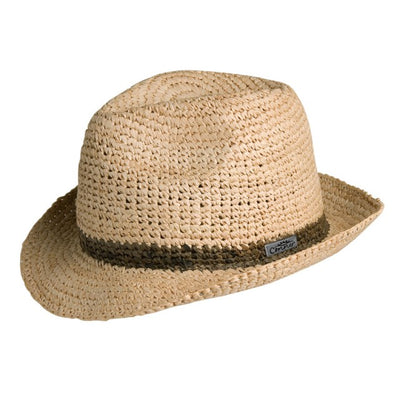Madison Raffia Straw Beach Fedora