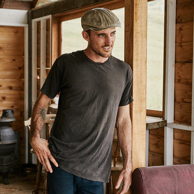 Racer Organic Cotton Newsboy Cap
