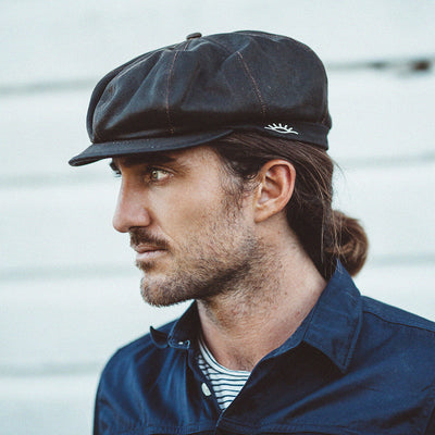 Brent Weathered Newsboy Cap