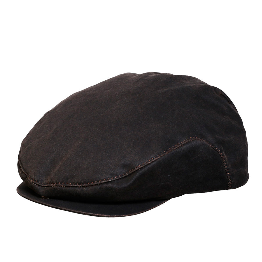 Swansey Weathered Cotton Newsboy Cap