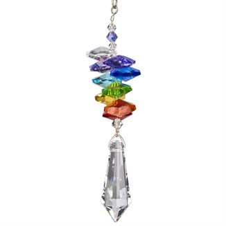 Crystal Rainbow Cascade Suncatcher Icicle