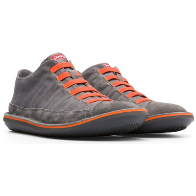 Zapatos Beetle Gris