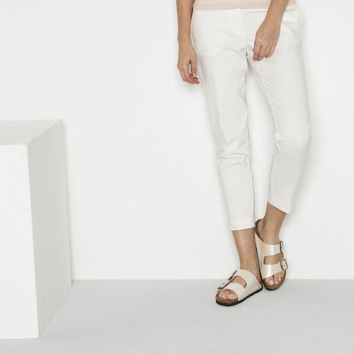 Sandalia Arizona Graceful Pearl White
