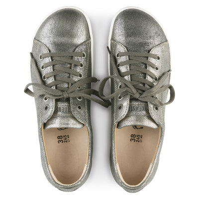 Zapatilla Arran Metallic Silver