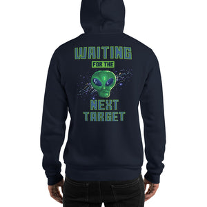 Retro Shirt Alien Attack Kapuzenpulli